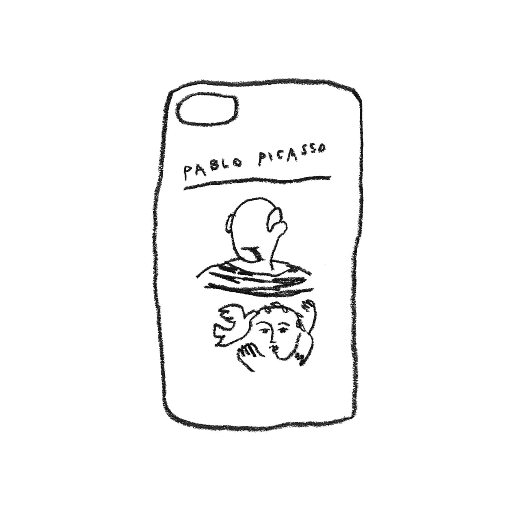 PICASSO JELLY CASE
