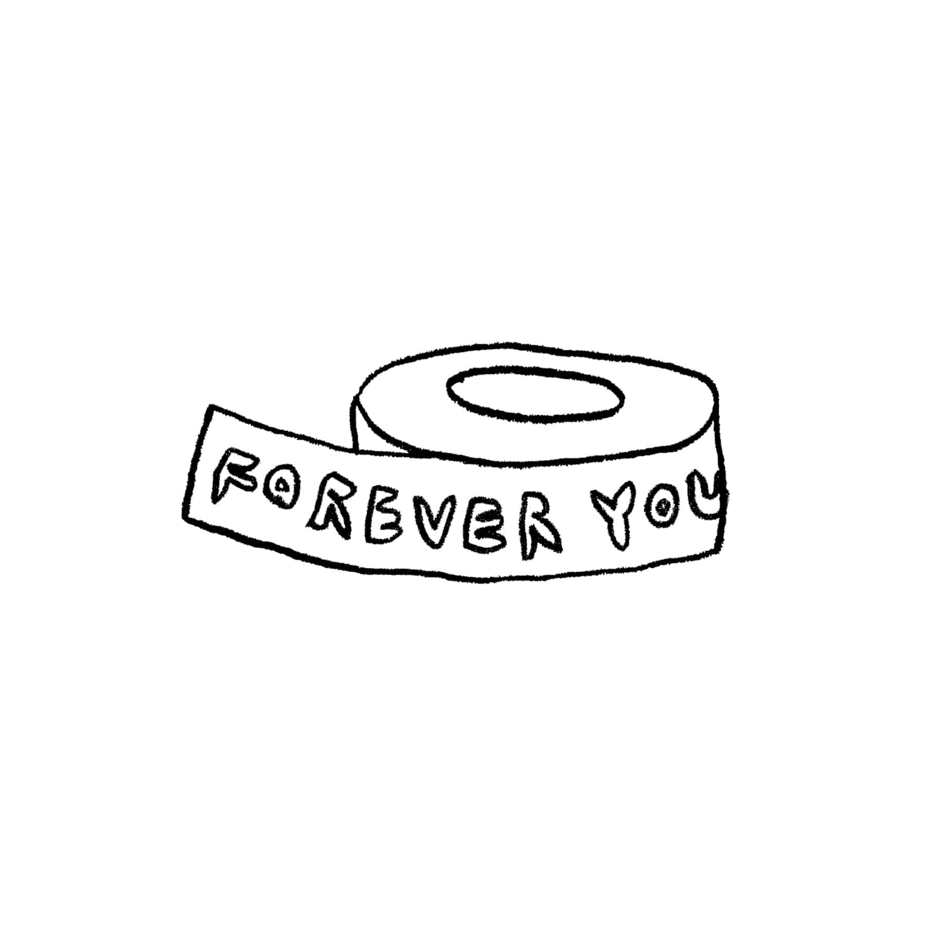 FOREVER YOUNG MASKING TAPE