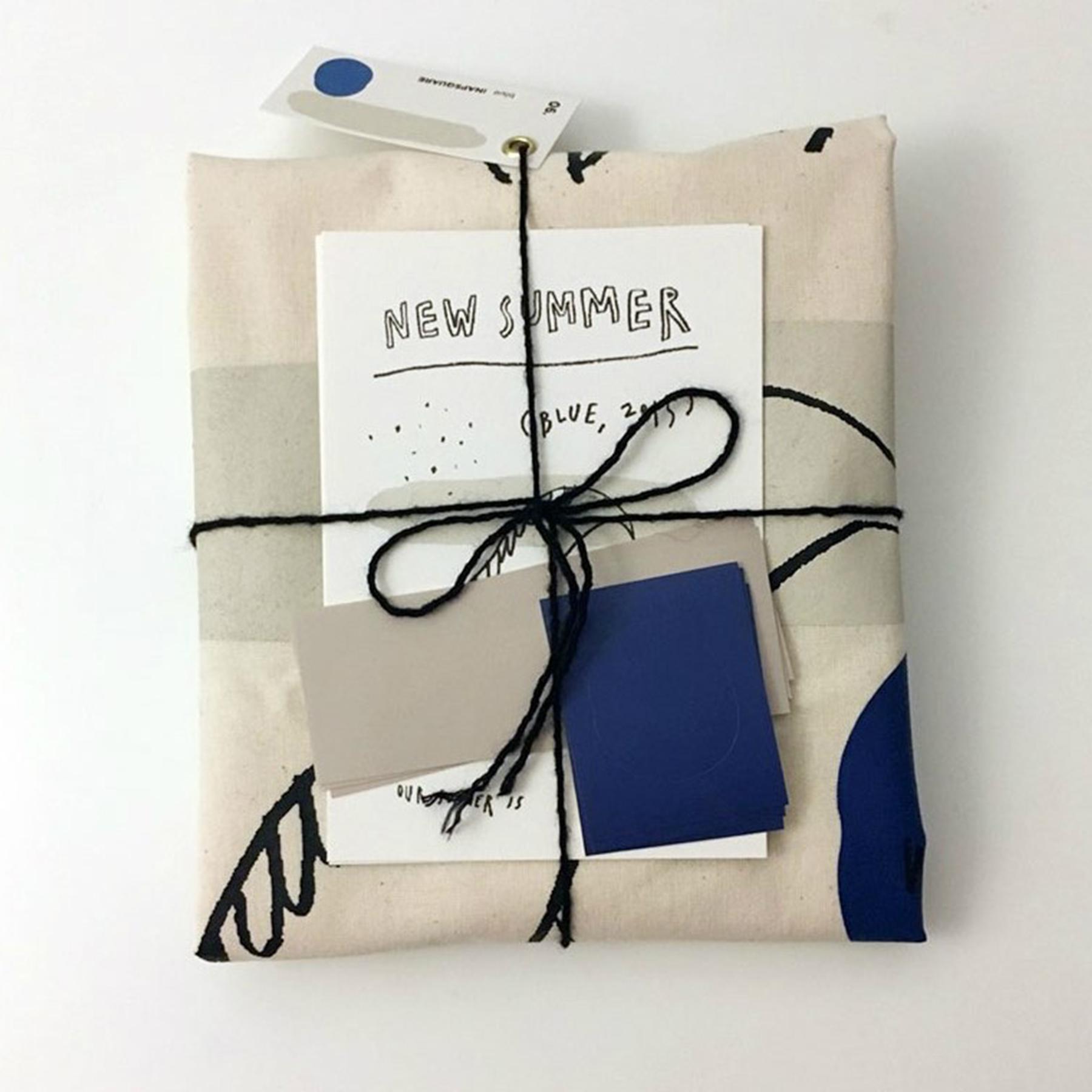 PROJECT 06. BLUE SUMMER BAG