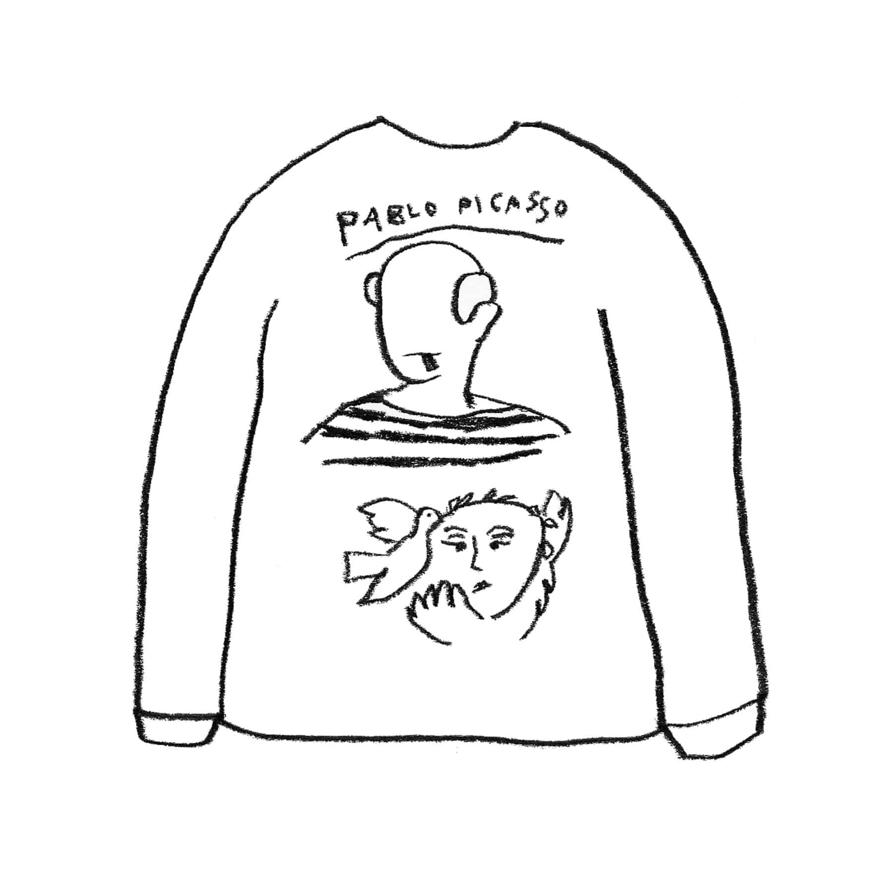 PICASSO SWEAT SHIRT