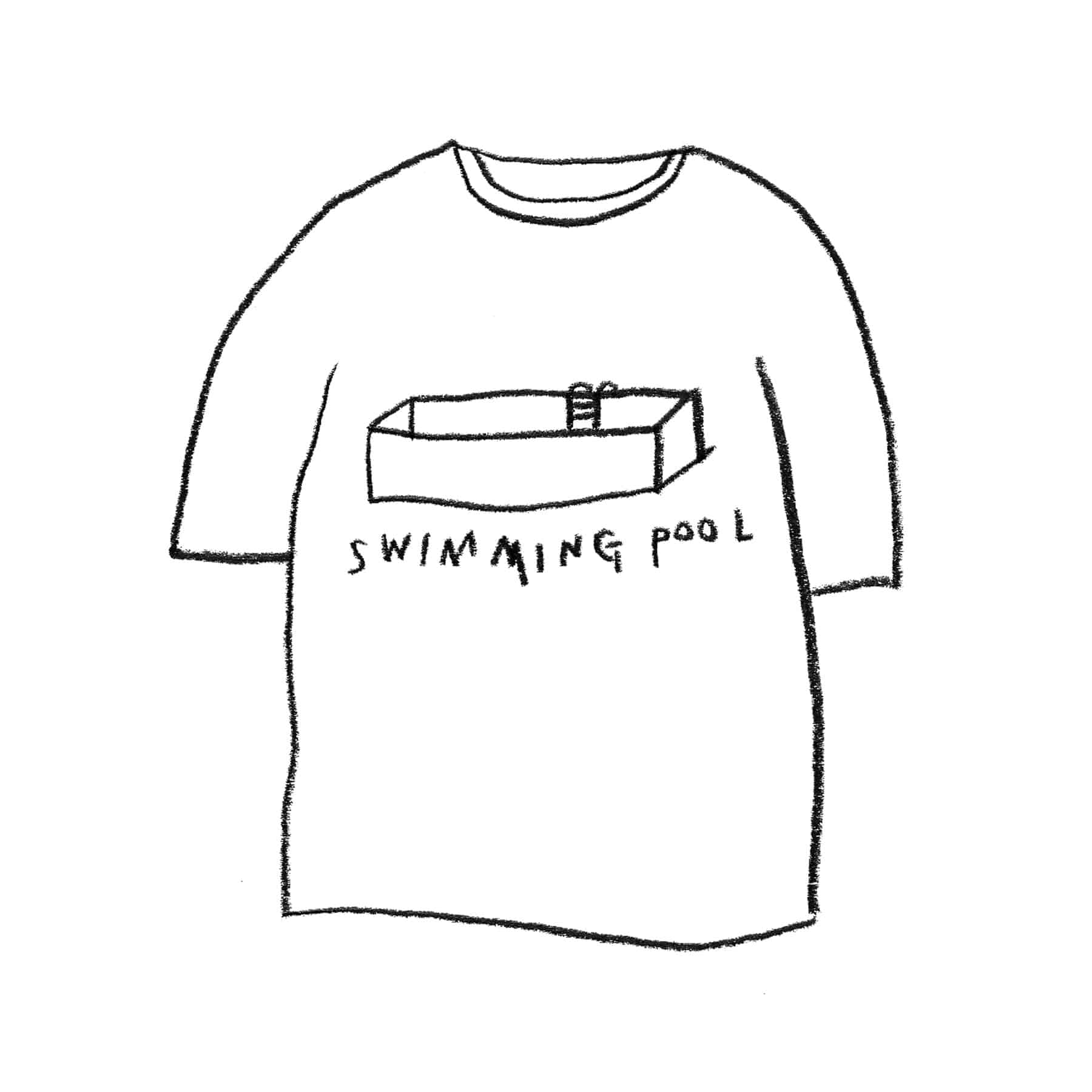 SWIMMING POOL 1/2 T-SHIRT