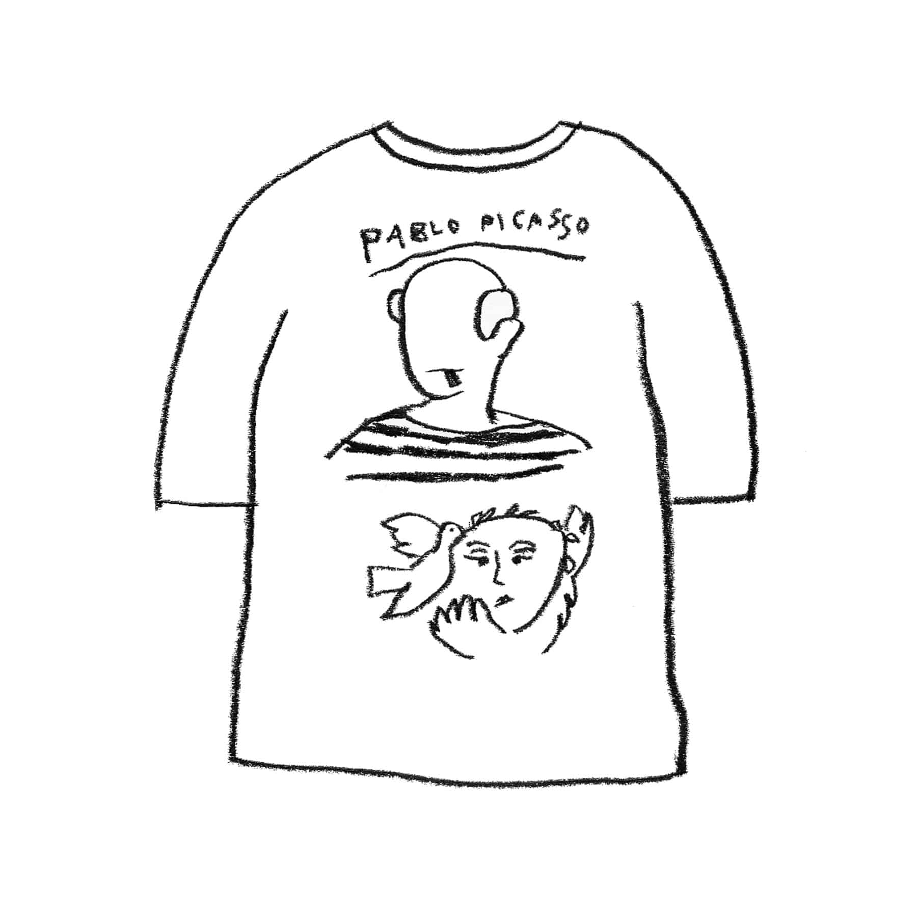 PICASSO 1/2 T-SHIRT