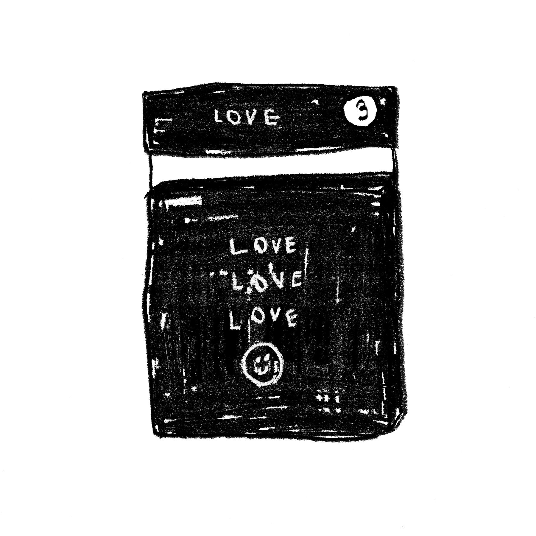 LOVE STICKER #3