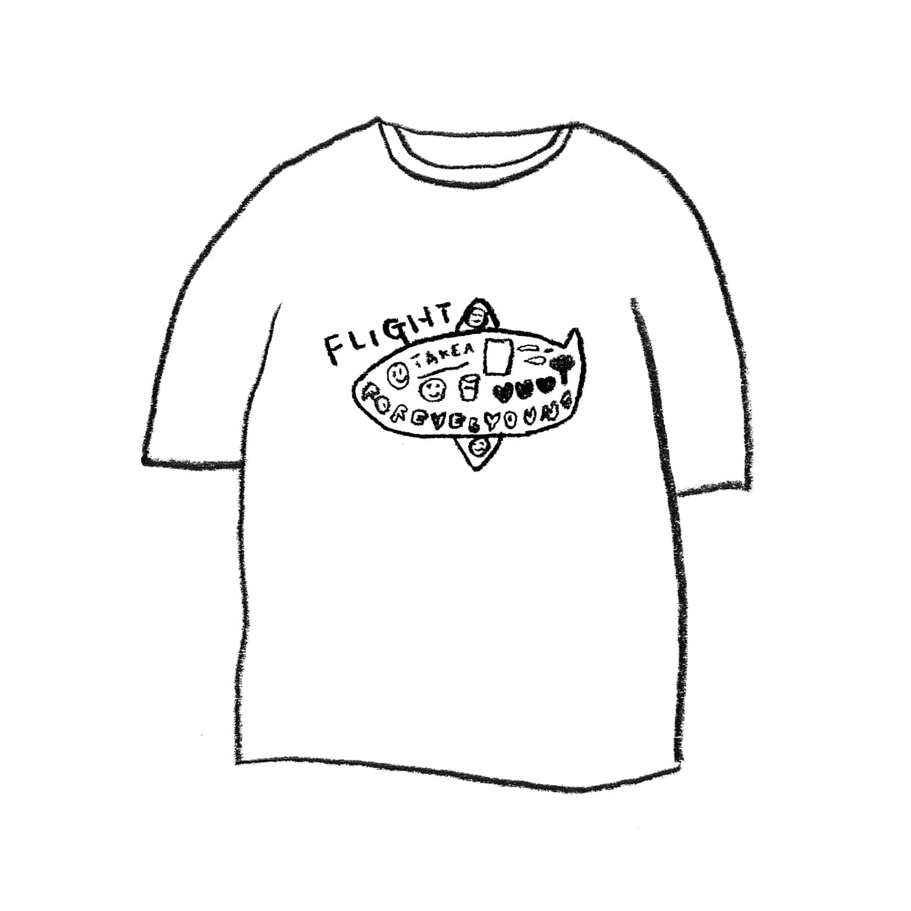FLIGHT 1/2 T-SHIRT