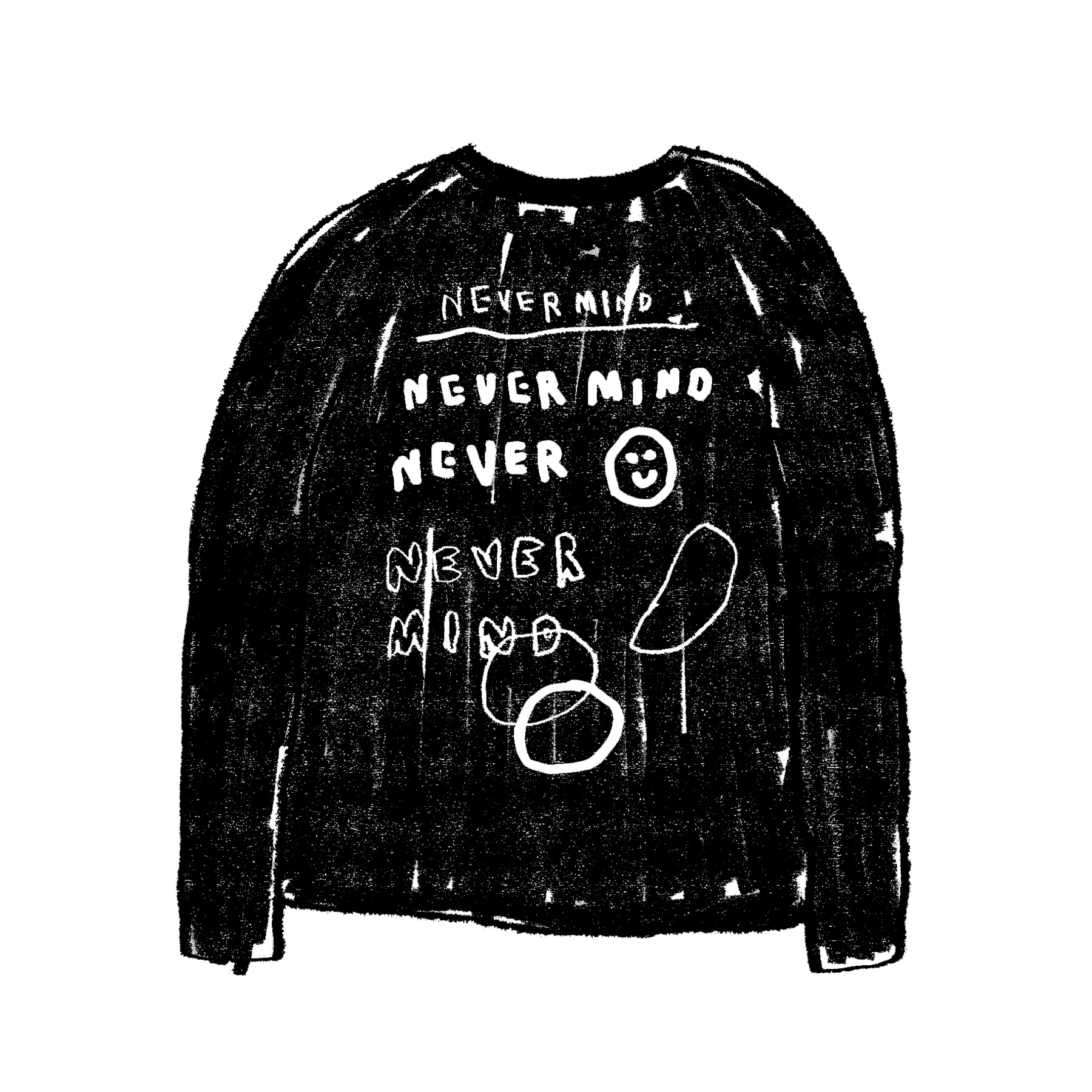 NEVERMIND LONG SLEEVE
